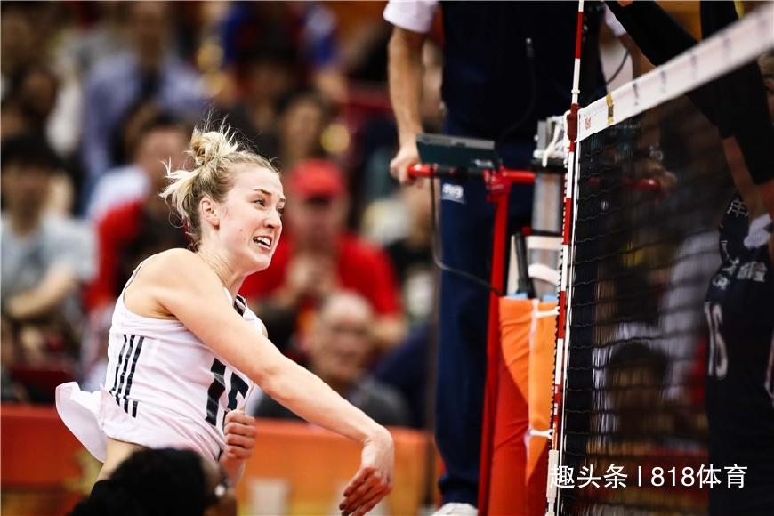 朱婷与美国队友对轰49分 希尔父母叹服:中国太强