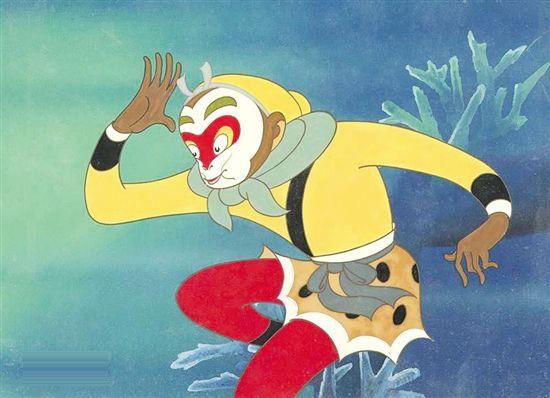6,《大闹天宫》1961年—1964年制作的一部彩色动画长片,中国动画的镇图片
