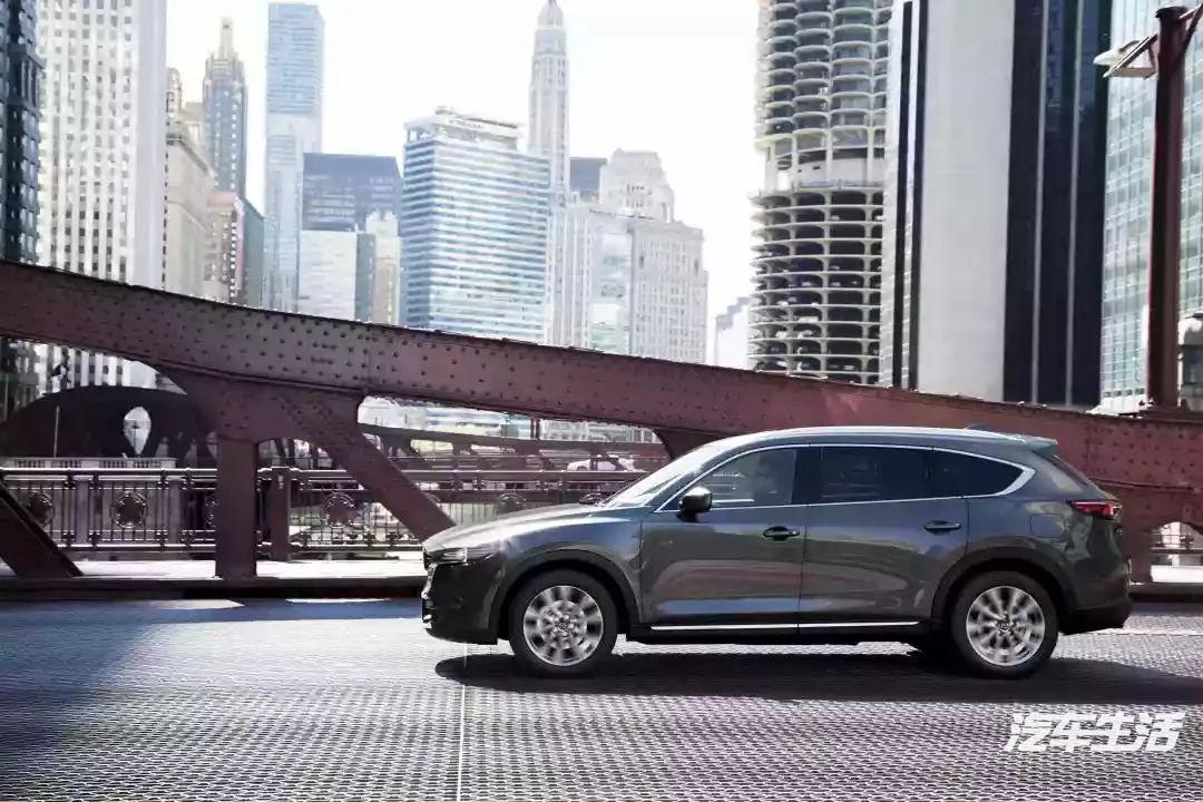 马自达CX-8正式下线座SUV名副其实