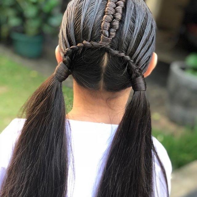 儿童女发型_3一8岁扎头发视频图片