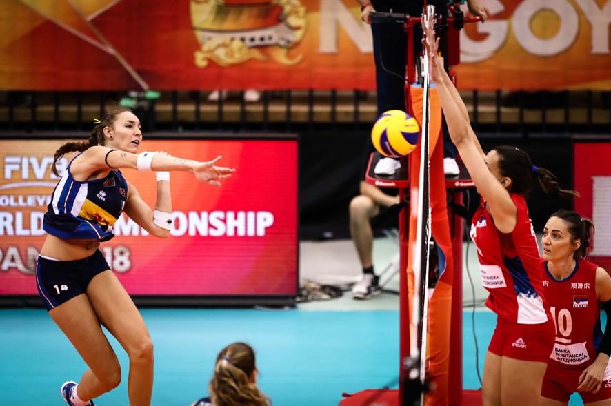中国女排若拿下荷兰半决赛碰意大利!塞尔维亚2连胜取得小组第一