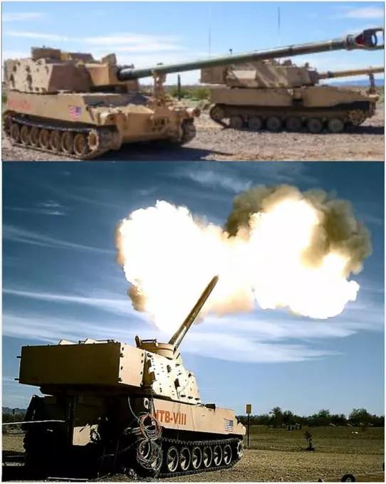 美国新型M109采用超长炮管 58倍径再次领先世界?