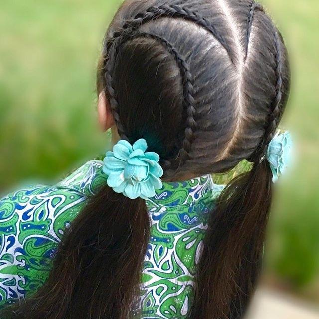 20款儿童侵犯发型,简单又唯美,快给孩子收藏版编发四十岁左右的发型短发图片