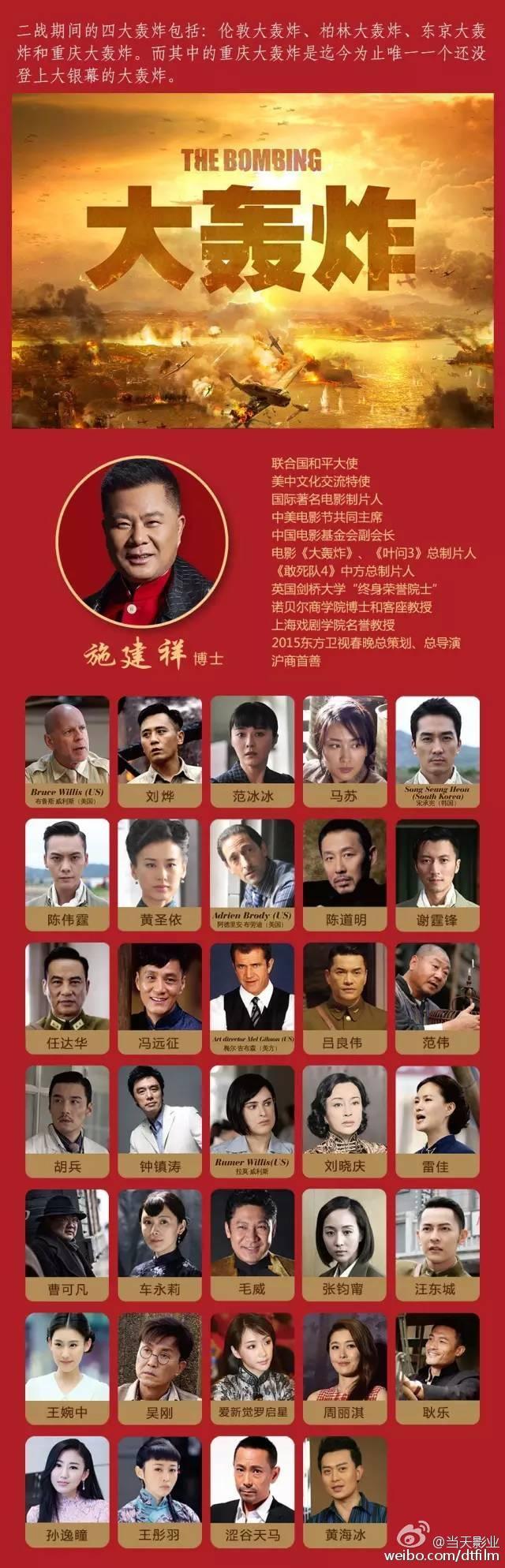 电影《大轰炸》宣布撤档!曾被崔永元多次公开抵制