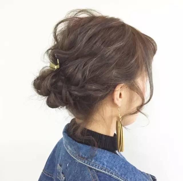 不能错过的各种短中长编发盘发,适合每种脸型的女孩