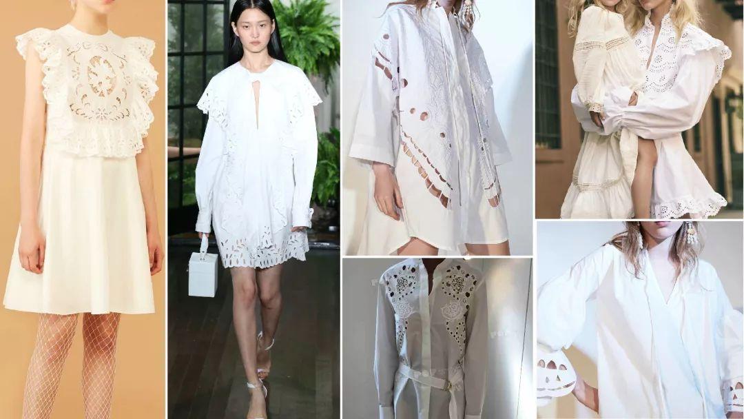 2019春夏女装连衣裙廓形趋势预测--淡雅的浪漫图片