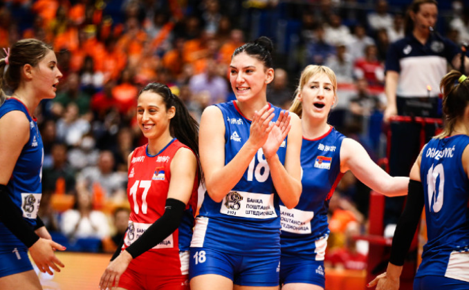塞尔维亚女排迎三大赛首冠最佳机会!因她们的克星中国被淘汰