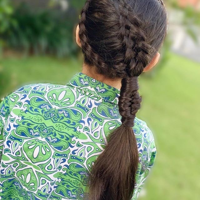 20款儿童编发,简单好看,再也用每天披着头发了