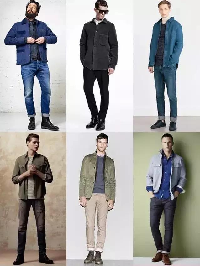 1,外套式衬衫外套式衬衫,既能做衬衫单穿,又能做外套搭配针织衫,衬衫