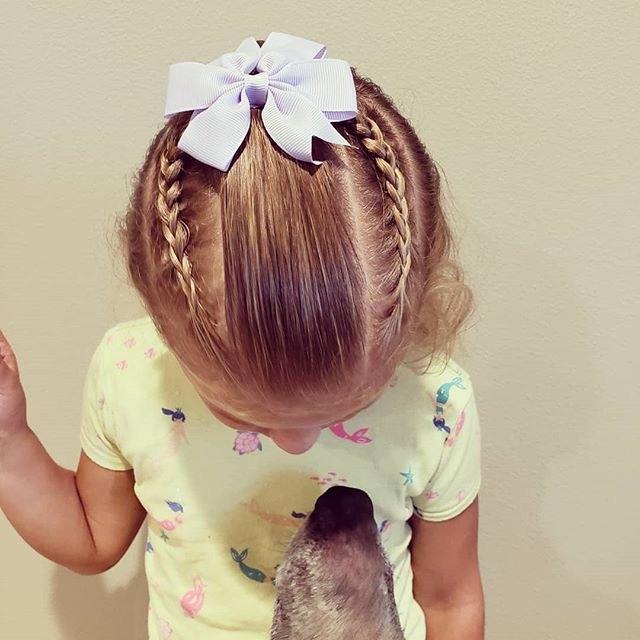 10款可爱宝贝简单编发头盔!让你家发型走在流发型儿童如何带破坏不图片