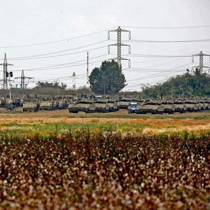 以色列坦克部队有大动作 突然进军边境眼看要开打