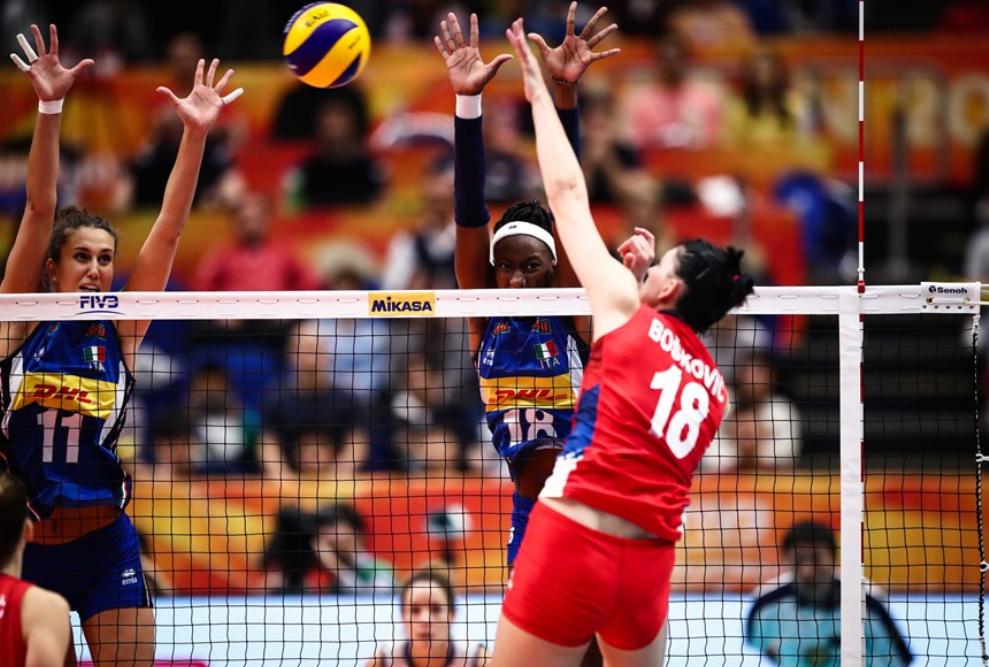 创造历史!塞尔维亚女排首次夺三大赛冠军,这次没碰中国一帆风顺