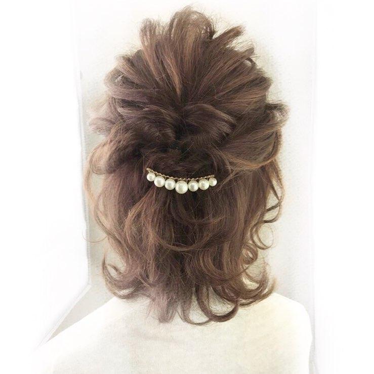 气质中长发编发,优雅迷人的长发编发 简单又大方!