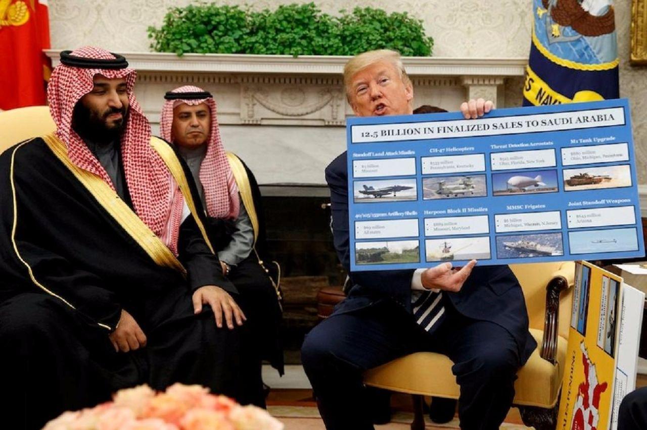 特朗普要对沙特下狠手?看着上千亿军火大单很为难