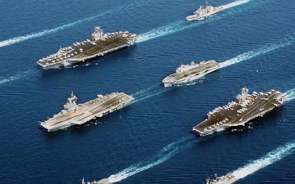 大国海军实力有多强:总兵力50万,279艘军舰,4000架战机!