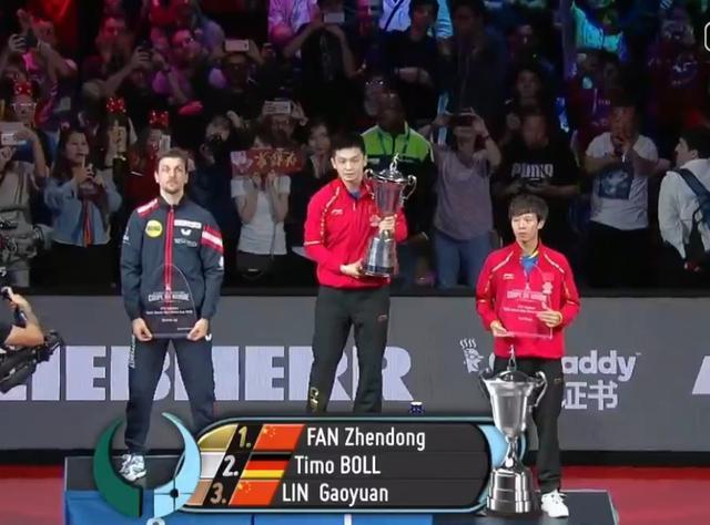 樊振东夺世界杯冠军 主动示意擦边球赢全世界掌声