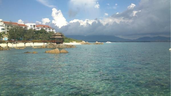 蜈支洲岛真是好清好清好清的水 有图有真相啊