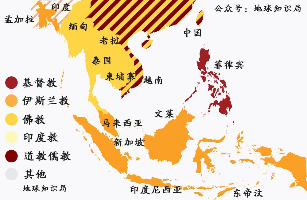 东南亚国家_使用汉字的东南亚国家,离开汉字以后变成什么样了?地球知识局