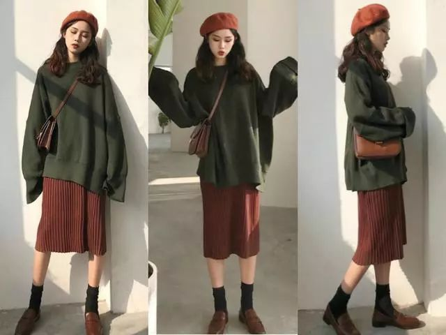 秋冬学这5套时尚搭配太美了!