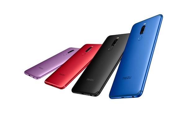 魅族Note 8官方图赏:黑蓝紫红四色齐飞