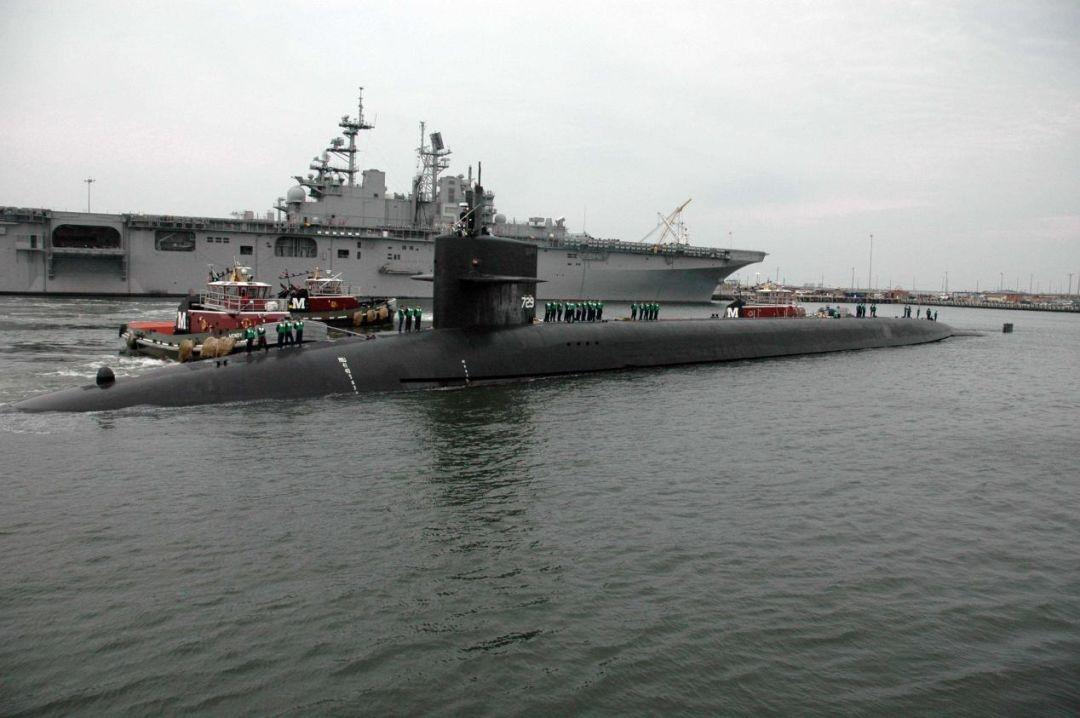 两天下水两艘核潜艇!如何面对质量双优的美国海军?