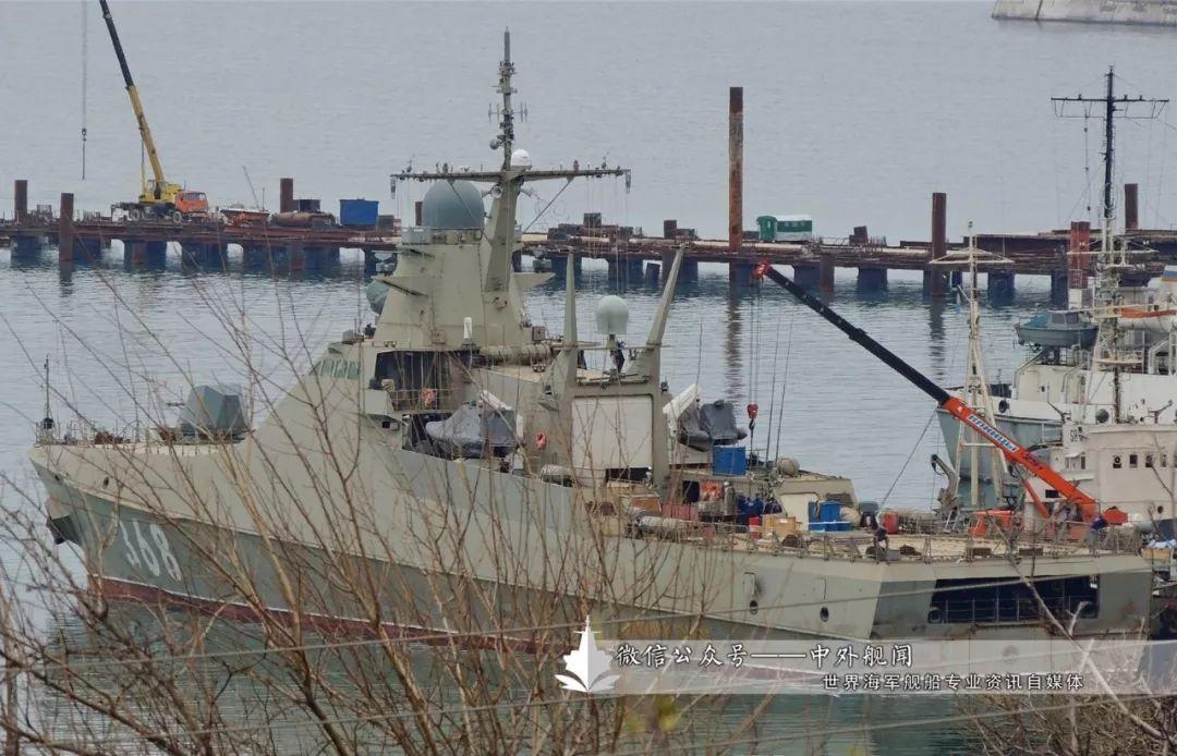 俄罗斯首艘22160型远洋巡逻舰完成测试
