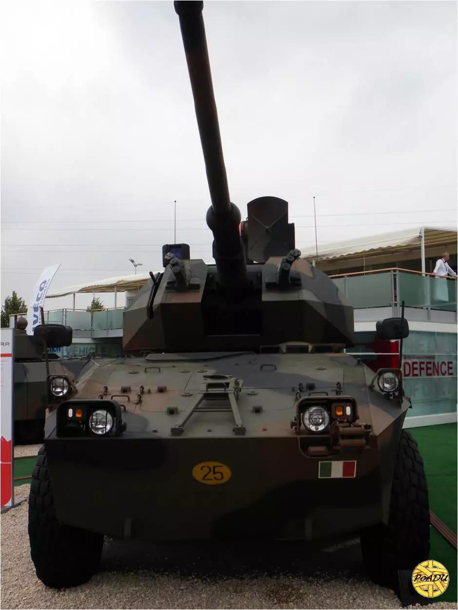 国产新型76毫米自行火炮力压意大利成全球第一!
