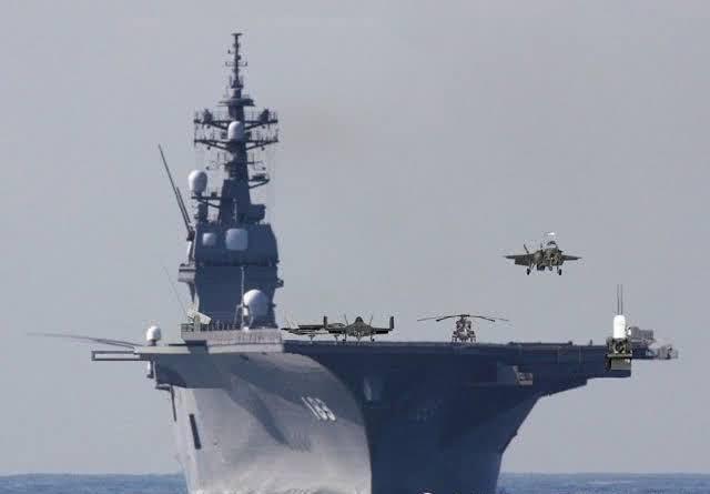 加贺号直升机航母被兰州舰超近距离监控 只能干瞪眼