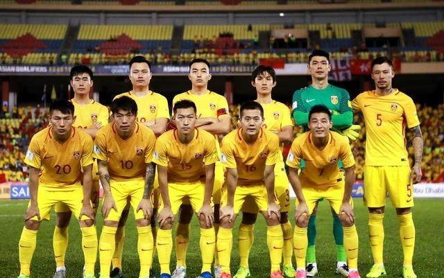 FIFA最新排行榜出炉:中国男足位列亚洲第7世界第75