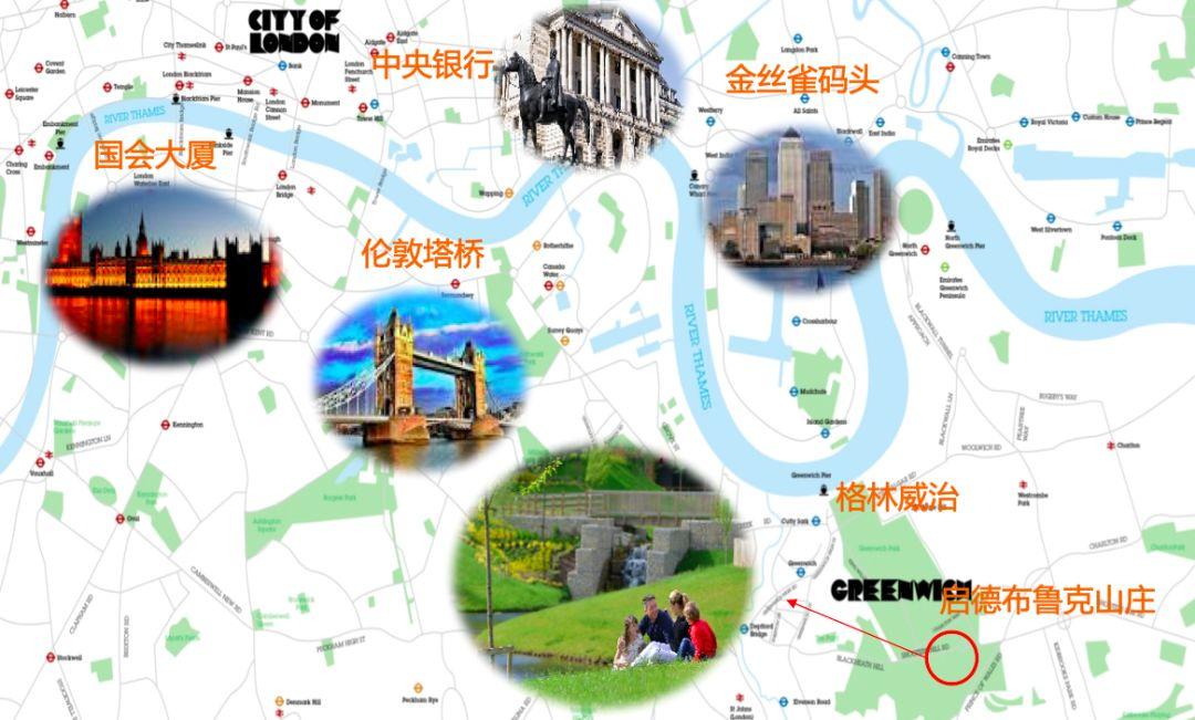 介绍英国的海报手绘