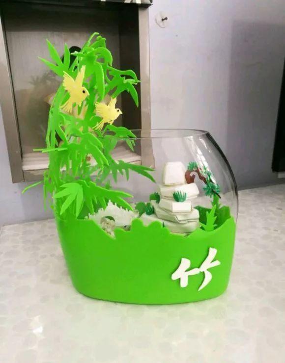 废旧洗衣液瓶做花盆,比花都好看!