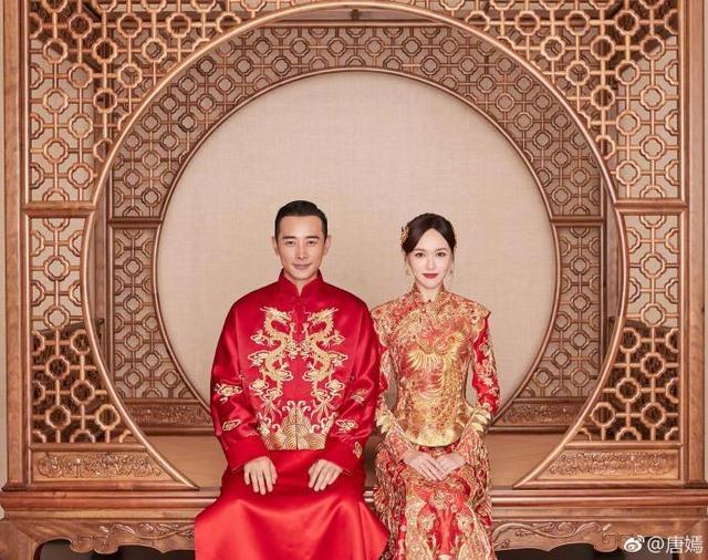 唐嫣、罗晋官宣:我们结婚了!两人晒出婚纱照新郎新娘美翻天