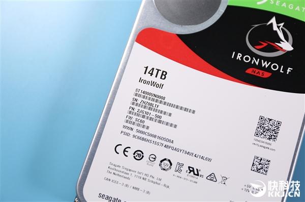 贵比iPhone XR 希捷酷狼14T氦气硬盘图赏