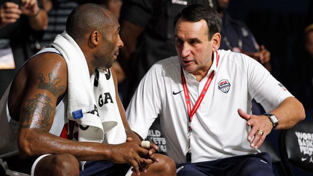 老K教练回忆科比国家队经历,科比:练习才是硬道理