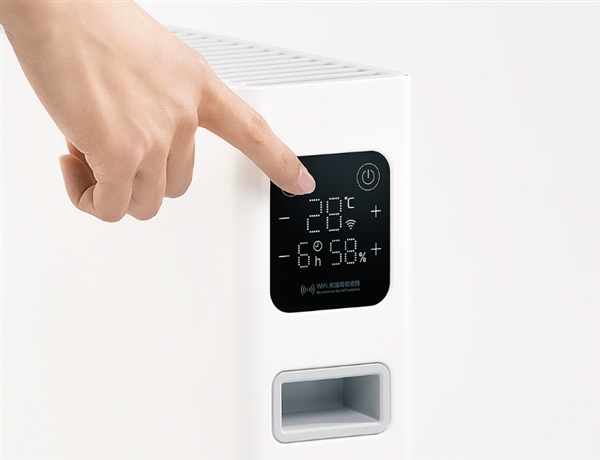 399元!智米电暖器智能版发布:带触摸屏