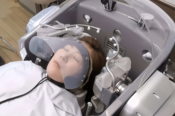 洗头小妹也要失业了?日本研发专用洗头机器人,可以让人爽翻天!
