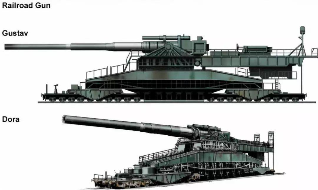弹坑有一栋大楼那么大?二战最大口径火炮有多狠?