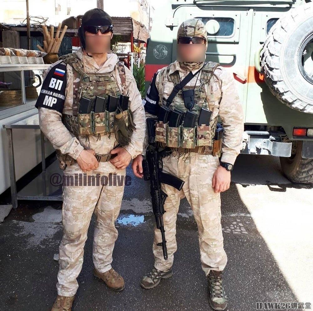 图解叙利亚战场的俄军单兵装备 防弹背心必不可少