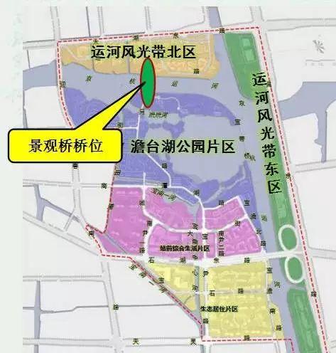 美!京杭大运河苏州段又将新添一座景观桥!