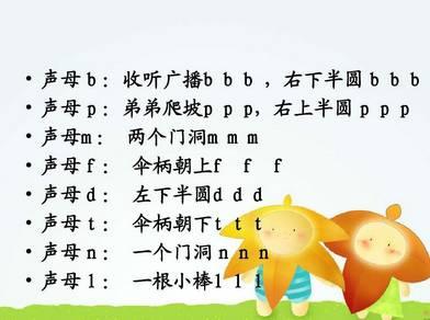 6首幼儿园快乐的拼音儿歌!拼音这么学太简单了