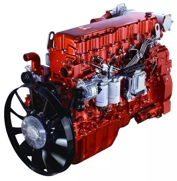 玉柴6k13柴油发动机当前我国重卡市场排量最大的顶置凸轮轴重卡图片