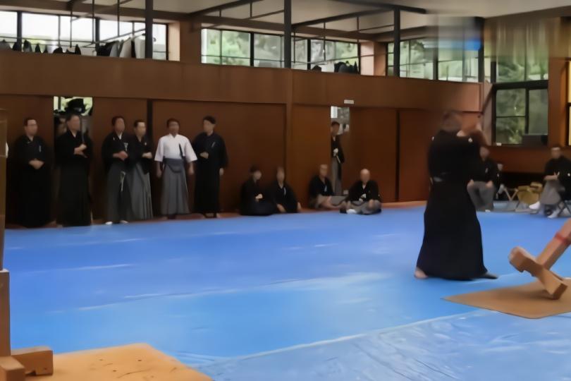 """日本顶级的女刀手展示""""正劈砍力"""",武艺真高强啊!"""