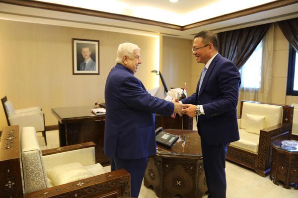 冯飚任中国驻叙利亚大使 齐前进不再担任