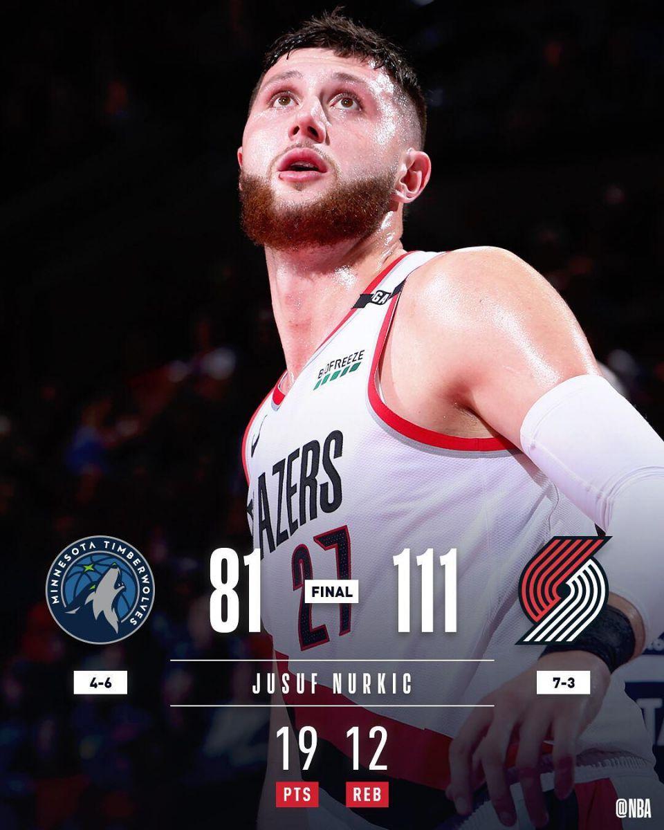 NBA官方发布今日7支获胜球队的赢球图集
