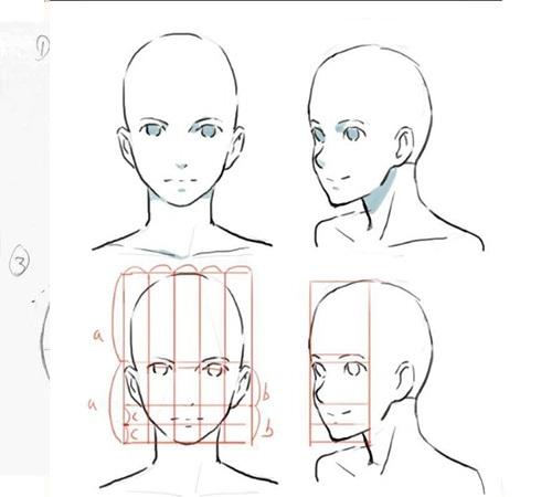 画脸的步骤图片