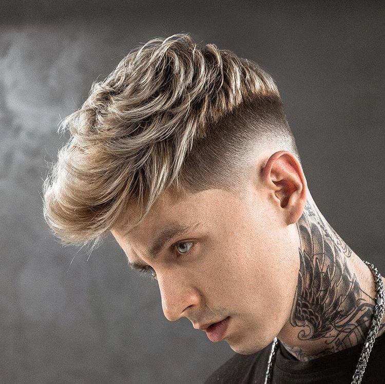 国际美发大师推荐的2018男生流行发型,每一款都很潮图片