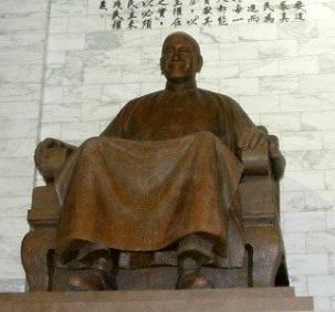 """台""""防长""""拒拆两蒋铜像:饮水思源,没理由动"""