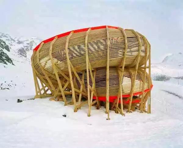 建筑结构丨魔力螺旋圈