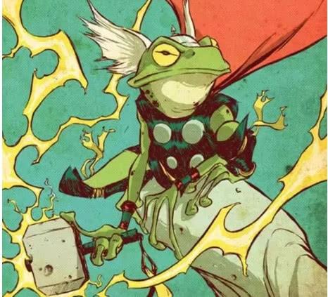 雷神变青蛙,松鼠女孩完虐灭霸,漫威的动物就是猛!