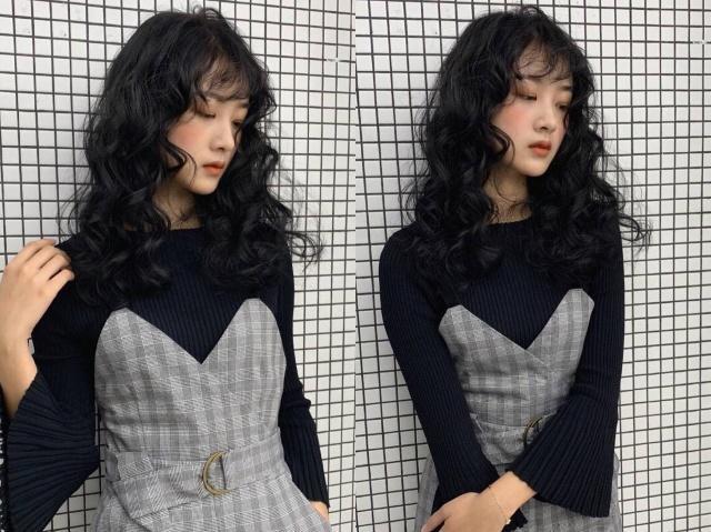 女明星柳岩的小卷烫发火了,微波剪一起变美!发型怎么卷跟着做图片